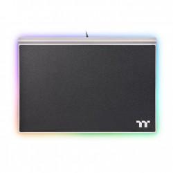 Thermaltake - Argent MP1 RGB Alfombrilla de ratn para juegos Negro Titanio