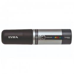 Lyra - Graduate Mark All marcador permanente Punta de cincel Negro 4 piezas
