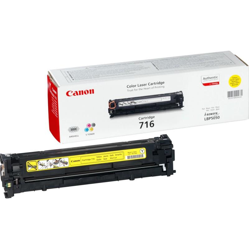 Canon - 716 Y Original Amarillo 1 piezas