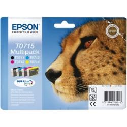 Epson - Multipack T0715 4 colores - C13T07154010