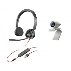 POLY - Studio P5 Kit sistema de video conferencia 1 personass Sistema de vdeoconferencia personal