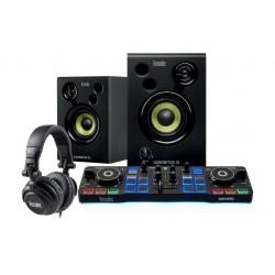 Hercules - DJStarter Kit controlador dj DVS Sistema de vinilo digital para scratch digital
