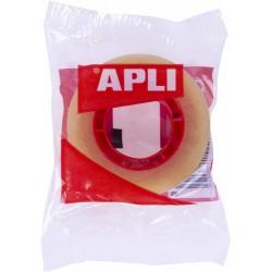 APLI - CINTA ADHESIVA TRANSPARENTE 19 MM X 33 M APLI 11103