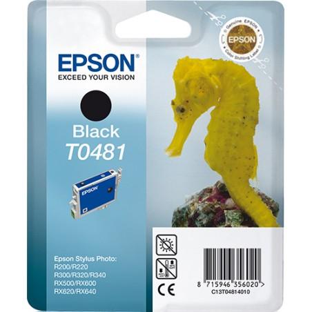 Epson - Seahorse Cartucho T0481 negro