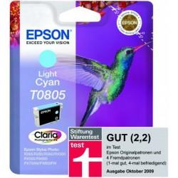 Epson - Hummingbird Singlepack Light Cyan T0805 Claria Photographic Ink