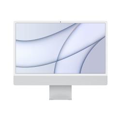 Apple - iMac 61 cm 24 4480 x 2520 Pixeles Apple M 8 GB 512 GB SSD PC todo en uno macOS Big Sur Wi-Fi 6 80211ax Plata