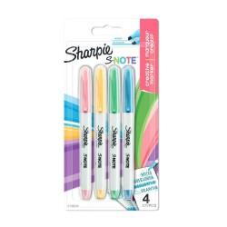 Sharpie - 2138234 marcador permanente Multicolor 4 piezas