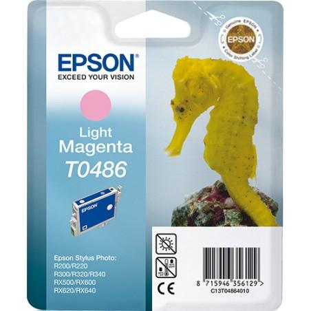 Epson - Seahorse Cartucho T0486 magenta claro