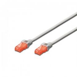 Ewent - EW-6U-010 cable de red Gris 1 m Cat6 U/UTP UTP