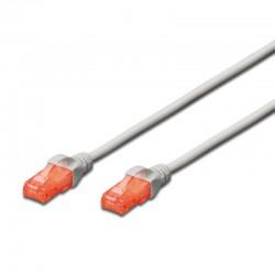Ewent - EW-6U-020 cable de red Blanco 2 m Cat6 U/UTP UTP
