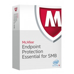 McAfee - Endpoint Protection for SMB 1 Year 5 - 25 User Licencia bsica 1 aos