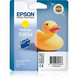 Epson - Duck Cartucho T0554 amarillo