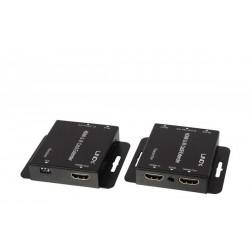 Lindy - 38144 extensor audio/video Transmisor y receptor de seales AV Negro