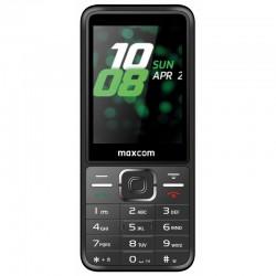 MaxCom - MM244 telfono mvil 711 cm 28 1108 g Negro Telfono bsico
