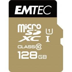 Emtec - microSD Class10 Gold 128GB memoria flash MicroSDXC Clase 10