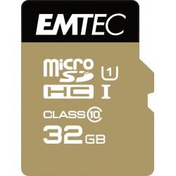 Emtec - microSD Class10 Gold 32GB memoria flash MicroSDHC Clase 10