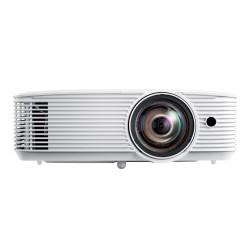 Optoma - H117ST videoproyector Proyector para escritorio 3800 lmenes ANSI DLP WXGA 1280x800 3D Blanco
