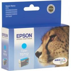Epson - Cheetah T0712 Original Cian