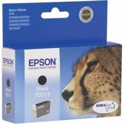 Epson - Cheetah T0711 black ink cartridge Original Negro