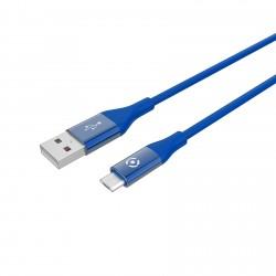 Celly - USBMICROCOLORBL cable USB 1 m USB 20 USB A Micro-USB B Azul