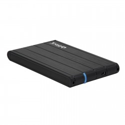 TooQ - CAJA HDD 25 SATA A USB 20/USB 30 NEGRA