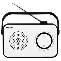 Aiwa - R-190BW radio Porttil Analgica Negro Blanco