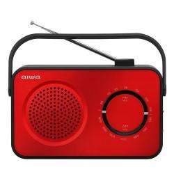 Aiwa - R-190RD radio Porttil Analgica Negro Rojo