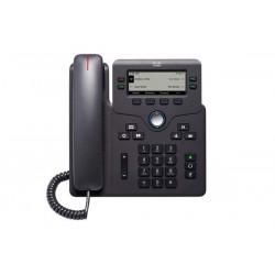 Cisco - 6841 telfono IP Negro 4 lneas