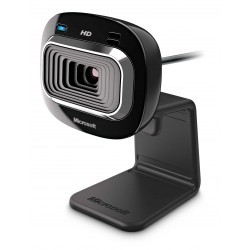 Microsoft - LifeCam HD-3000 cmara web 1 MP 1280 x 720 Pixeles USB 20 Negro