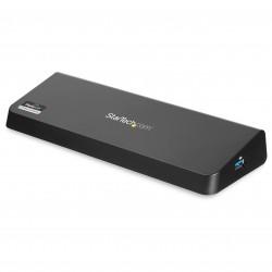 StarTechcom - Docking Station USB 30 para Dos Monitores con HDMI y DisplayPort 4K