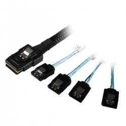 UNYKAch - De datos Mini SAS 36P SFF-8087 A 4 unidades SATA