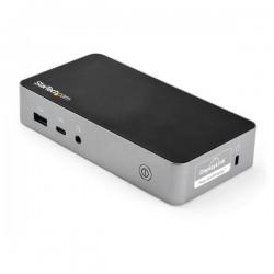 StarTechcom - Docking Station USB-C de 2 Puertos HDMI para Monitor Doble - con Entrega de Alimentacin PD de 60W