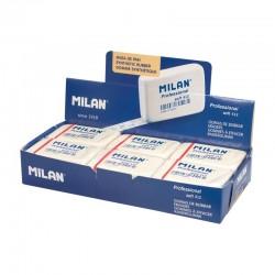 Milan - Caja 12 gomas blancas Professional Soft 412