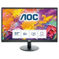 AOC - 70 Series E2270SWDN LED display 546 cm 215 1920 x 1080 Pixeles Full HD Negro