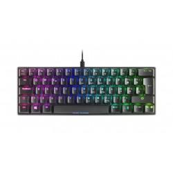 Mars Gaming - MKMINIBRES teclado USB Espaol Negro