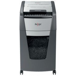 Rexel - AutoFeed 300X triturador de papel Corte cruzado 55 dB 23 cm Negro Gris