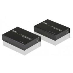 Aten - VE812R extensor audio/video Repetidor de seales AV Negro