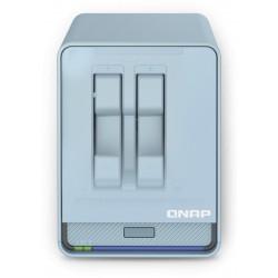 QNAP - QMiroPlus-201W NAS Escritorio Ethernet Azul J4125