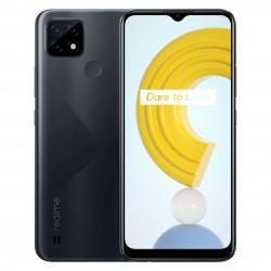 realme - C21 165 cm 65 SIM doble Android 100 4G MicroUSB 4 GB 64 GB 5000 mAh Negro