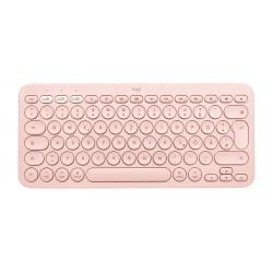Logitech - K380 For Mac teclado Bluetooth QWERTY Espaol Rosa