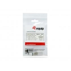Equip - 133475 cambiador de gnero para cable USB C USB C USB A USB A Micro-USB USB C Plata