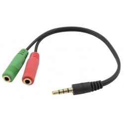 iggual - IGG317280 cable de audio 02 m 35mm 2 x 35mm