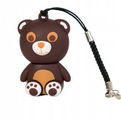 TECH1TECH - Totus bear unidad flash USB 32 GB USB tipo A 20 Beige Marrn Blanco