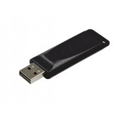 Verbatim - Slider - Unidad USB de 64 GB - Negro