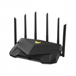 ASUS - TUF Gaming AX5400 router inalmbrico Gigabit Ethernet Doble banda 24 GHz / 5 GHz Negro
