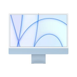 Apple - iMac 61 cm 24 4480 x 2520 Pixeles Apple M 8 GB 512 GB SSD PC todo en uno macOS Big Sur Wi-Fi 6 80211ax Azul
