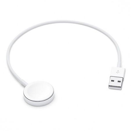 Apple - MX2G2ZM/AES accesorio de smartwatch Cable de carga Blanco