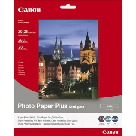 Canon - SG-201 - 20x25cm Photo Paper Plus 20 sheets papel fotogrfico