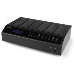 StarTechcom - Base Dock USB 30 y eSATA Duplicador de Discos Duros con 6 Bahas SATA - Clonador y Borrador de Discos Duros 15