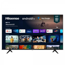 Hisense - 55A6G Televisor 1387 cm 546 4K Ultra HD Smart TV Wifi Negro Gris